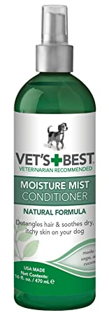 The 8 best vet's  moisture mist conditioner for dogs 16 oz bottle