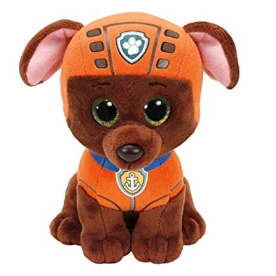 "TY Paw Patrol ZUMA - Labrador Dog Medium Plush 13"": Toys & Games"