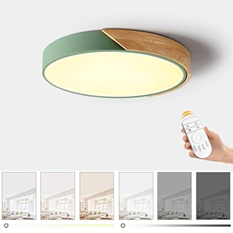 Amazon.com: Ultra-thin LED Ceiling Light, Modern Macarons ...
