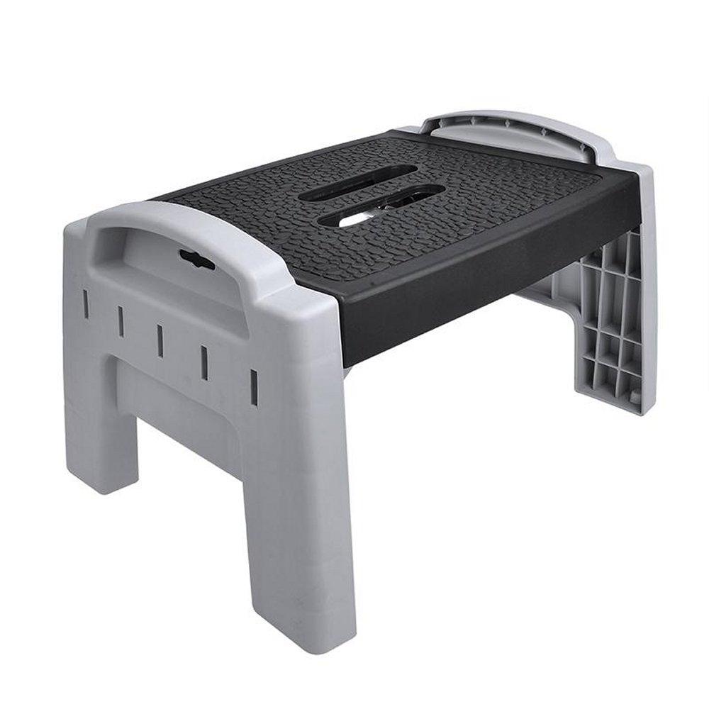 ProPlus 770824–Sgabello Scaletta a gradini pieghevole in plastica carico max. 150kg