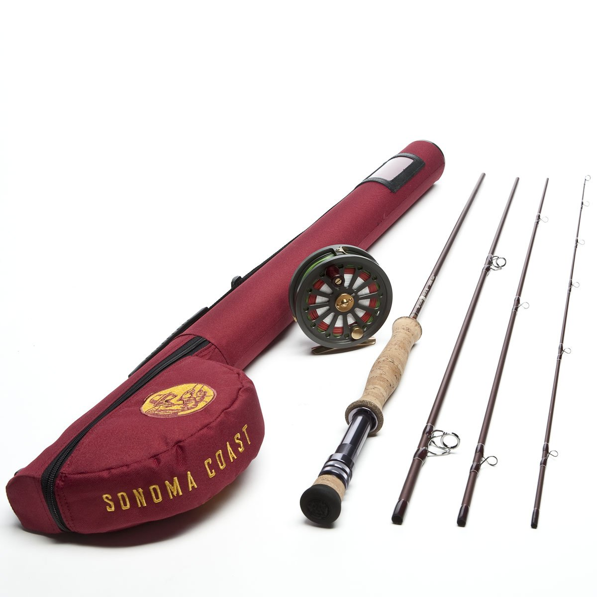 Leland Rod Co. Sonoma Coast Fly Fishing Outfit (The Fly Rod for Steelhead and Alaska)