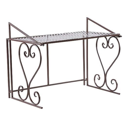 Mueble de microondas de cocina de metal, en el hierro de ...