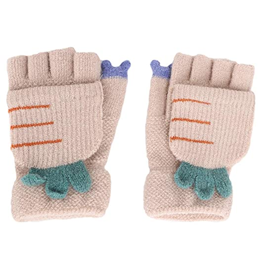 Back To Search Resultsapparel Accessories 2017 Winter Warmth Children Kids Mittens Gloves Knitted Fabric Double Thickened All Cover Fingers Kids Gloves For Boys And Girls A Wide Selection Of Colours And Designs
