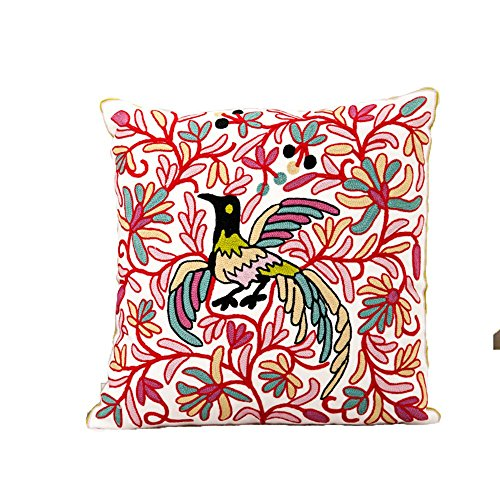 Monkeysell Hand embroidered Thickened pillowcase Decorative