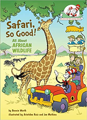 All About African Wildlife Cat In The Hats Learning Library 9780375866814 Bonnie Worth Aristides Ruiz Joe Mathieu Books