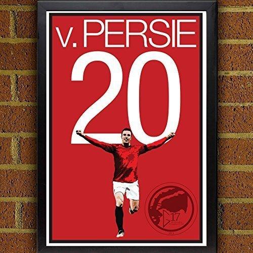 Robin van Persie Poster - Manchester United Art