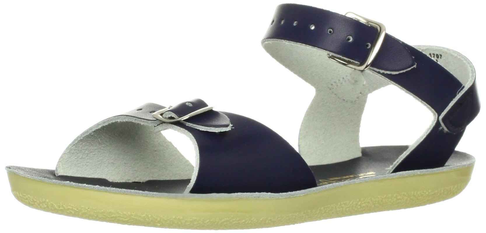 Salt Water Style 1700 Sun-San Surfer Sandal,Navy Blue,3 M US Infant