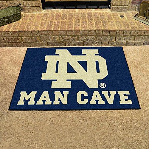 NCAA Notre Dame Team Logo Man Cave All-Star Mat - 33.75