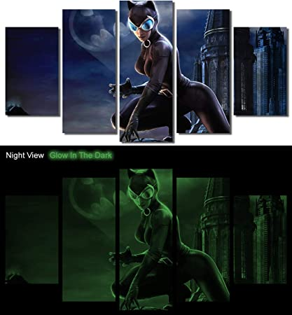 CATWOMAN Comics Canvas Framed Print Wall Art ~ More Size ~