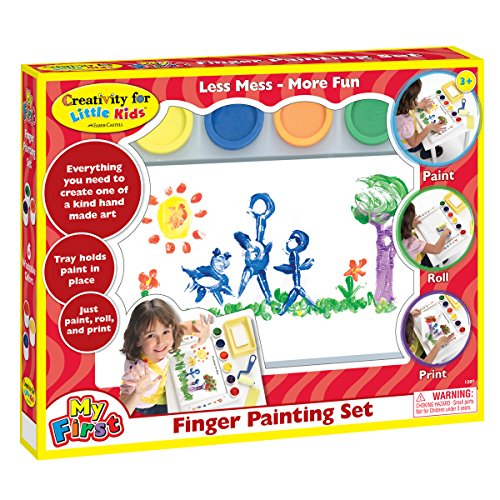 Finger Paint Kit - Creativity for Kids My First Finger Painting Set