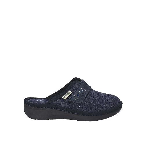 GRUNLAND CI2166 Pantofola Donna Blu 36 c94c1ce7bf7