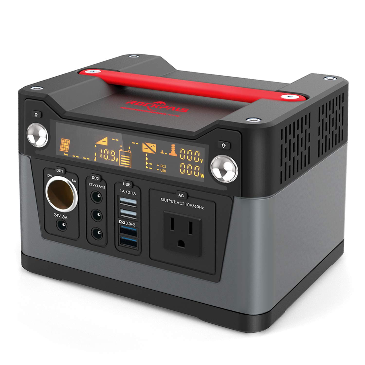 Rockpals 300W Portable Generator Lithium Portable Power