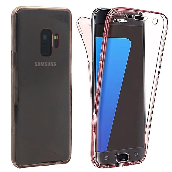 huge discount 18115 07ff2 Amazon.com: Galaxy S9 Case, Celefree Shockproof TPU 360 Degree ...