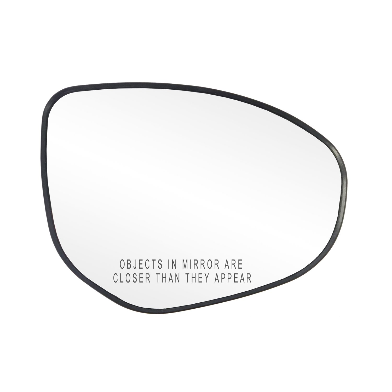 Fit System 80238 Mazda2//Mazda3 Right Side Power Replacement Mirror Glass with Backing Plate