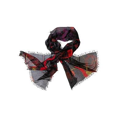 17573f7c068541 Delius Schal schwarz-rot: Amazon.de: Bekleidung