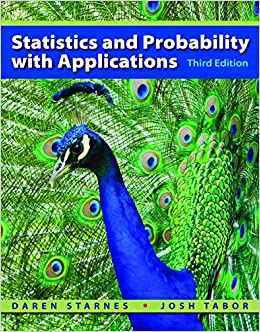 Daren S. Starnes - Statistics And Probability With Applications