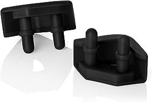 Noctua NA-SAVP5 chromax.Black, Anti-Vibration Pads for 92mm & 80mm Noctua Fans (16-Pack, Black)