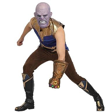 Amazon.com: Disfraz de Thanos para adulto infinito de guerra ...