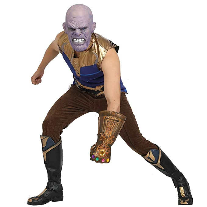 Movie Avengers Infinity War Thanos Cosplay Costume For Adult outfit  custom made
