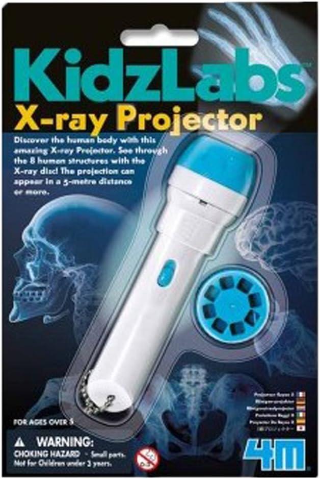 4M- Kidzlabs Proyector Radiografías, Multicolor (403315)