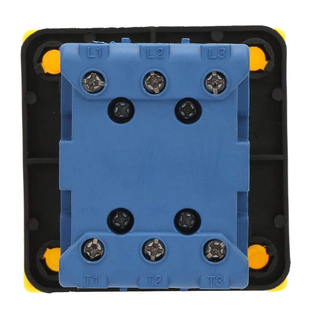 Commutatore rotante a camme 25A // 32A Interruttore automatico di carico a 2 poli a 2 posizioni Interruttore di alimentazione on-off a camme rotanti 32A
