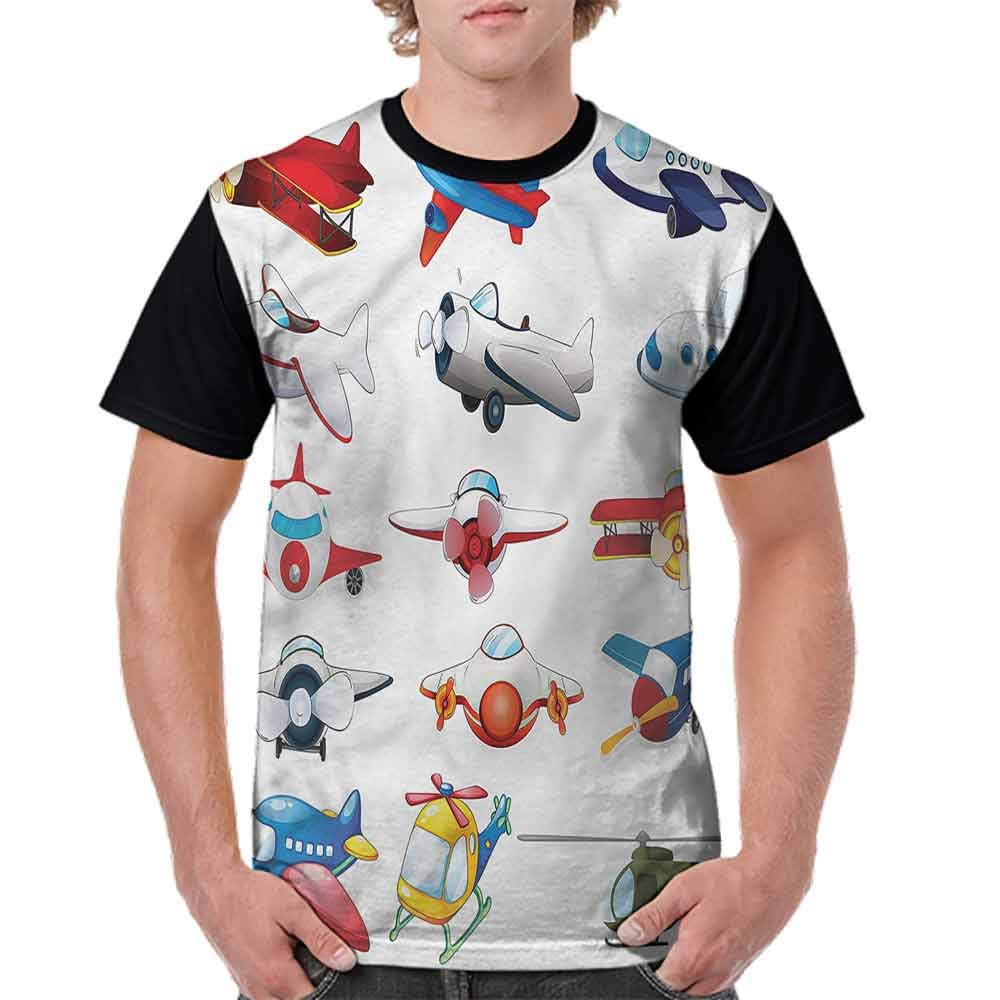 Vintage T-Shirt,Cartoon Style Toy Cratfs Fashion Personality Customization