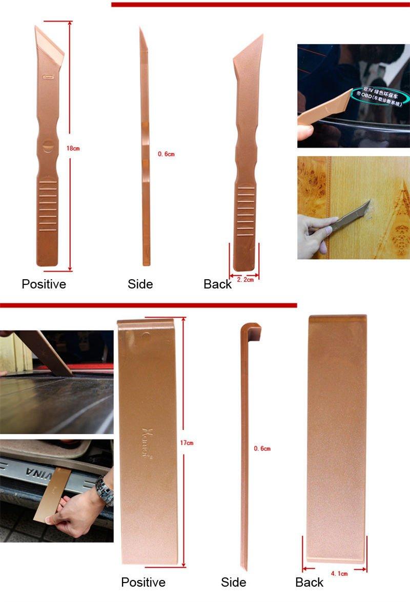 Car Exterior/Interior Door Dashboard Audio Stereo Dash Panel Remove Refit Tools