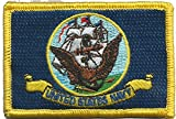 Navy Flag Tactical Patch - Military - Full Color