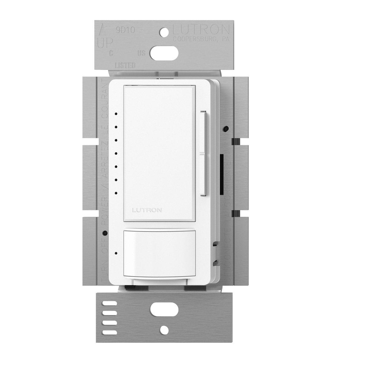 Lutron Maestro CL単極/ multi-location Vacancy Sensingディマー MSCL-VP153M-WH 1 B00ECUH40I ホワイト ホワイト