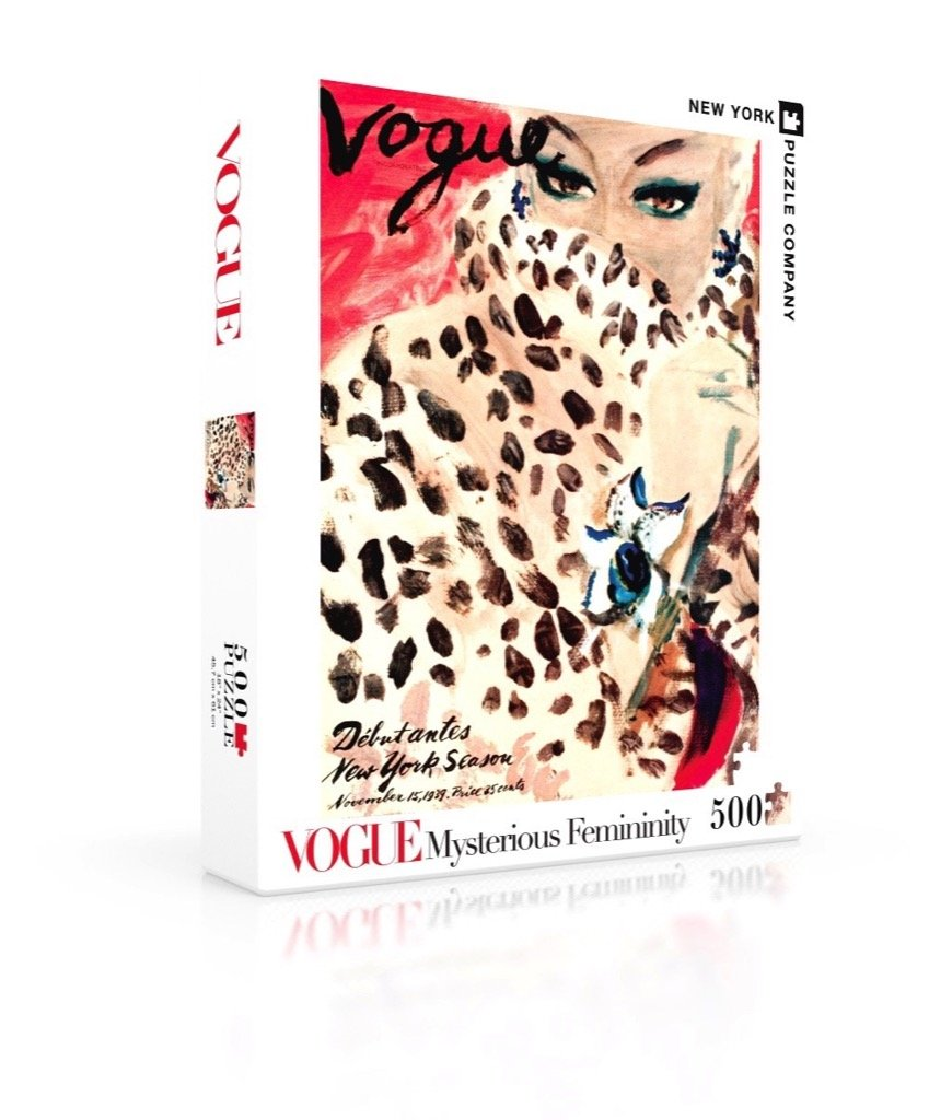 Amazon.com: New York Puzzle Company - Vogue Spot-on Fashion - 500 Piece Jigsaw Puzzle: Toys & Games