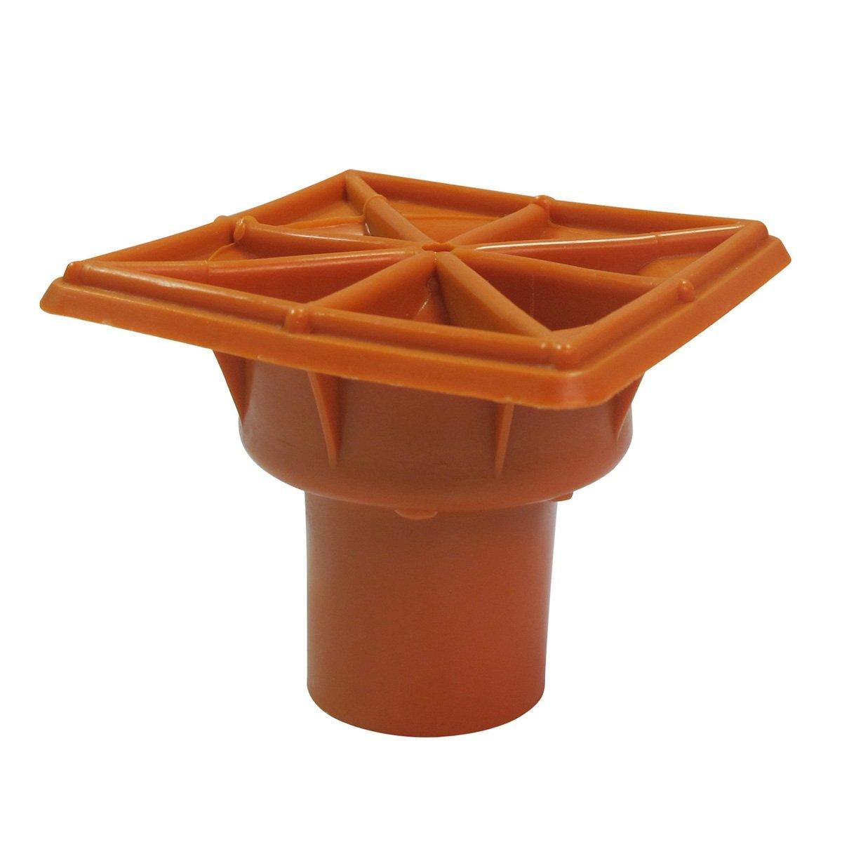 Rebar Cap, Orange,''DSC10, 25 Cal, Fits Rebar 3-#7, OSHA, 16910, Lot 25 by ERB