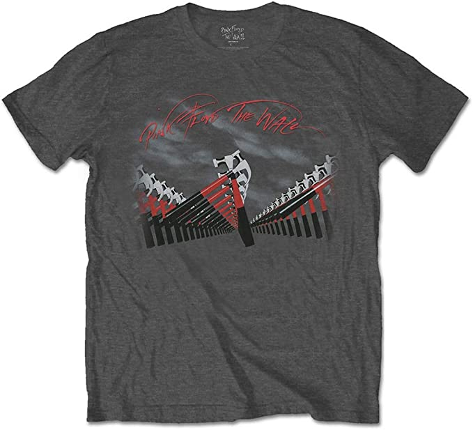 Pink Floyd T Shirt The Wall Hammers Band Logo new Official Mens Black