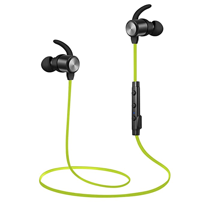 c34a03f743d Bluetooth Headphones, Wireless Headphones, TOTU Sweatproof High Fidelity  Stereo Bluetooth Earbuds Lightweight and Noise