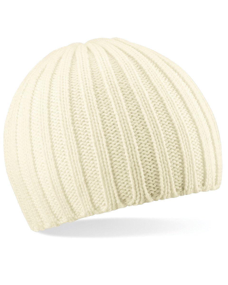 Beechfield Chunky Knit Beanie Hat Baseball Cap B462