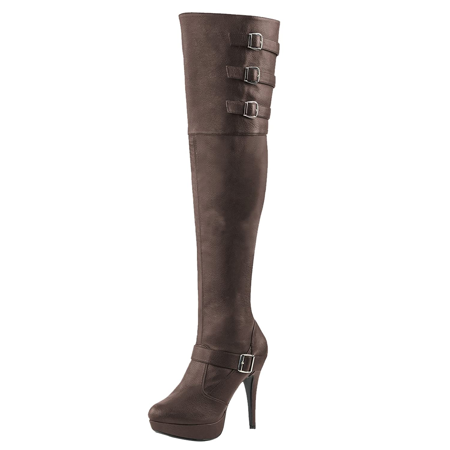Pleaser Day and Night Langschaftstiefel Chloe-308