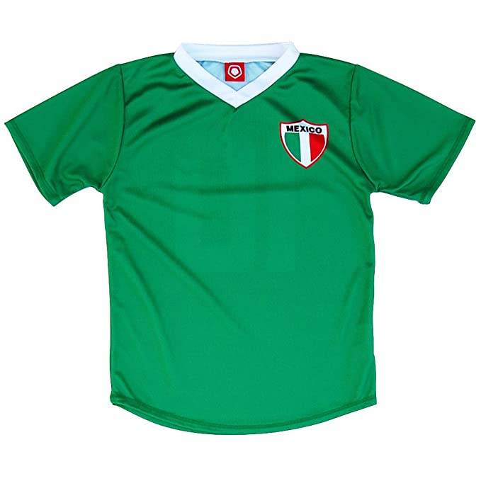 Mexico # 10 Retro Soccer Jersey