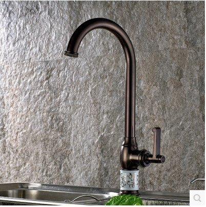Die Kupfer Schwarz Bronze Antik geschirr Waschbecken Wasserhahn warmes kaltes Wasser Waschbecken mixer ORB Wasserhahn