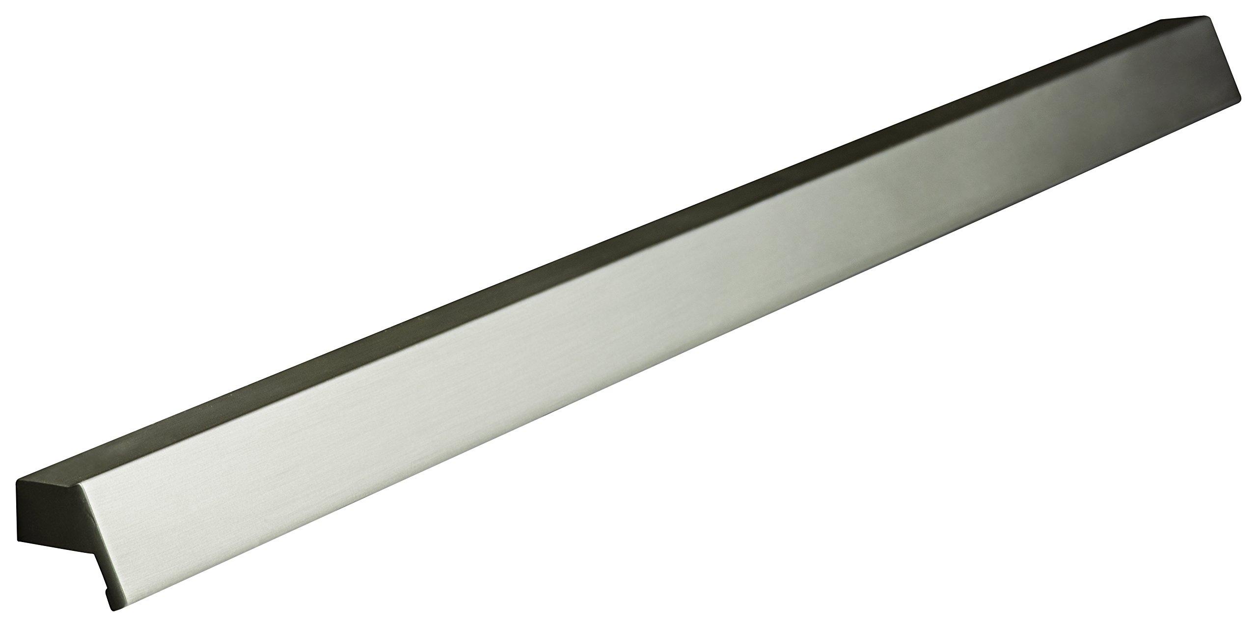 ZEN Design ZP0178.779 Ken Cabinet Hardware Centers Handle Pull, 7 1/2'', Brushed Nickel by ZEN Design