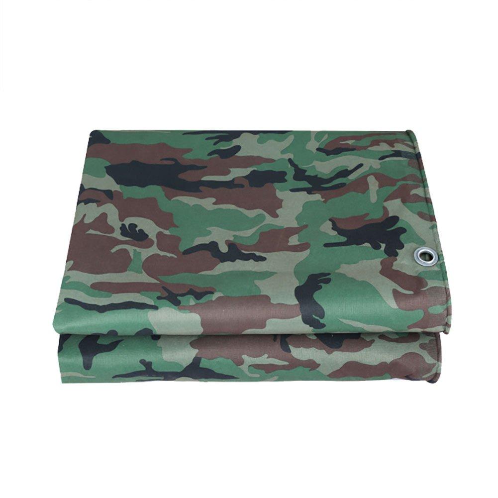 WDXJ Telo Camouflage Grande Telo Impermeabile Coprimaterasso Resistente Esercito Camo 3mx4m Tenda Esterna Tenda Tenda Tenda da Sole verde, 400G   M² (Dimensioni   3  4m)
