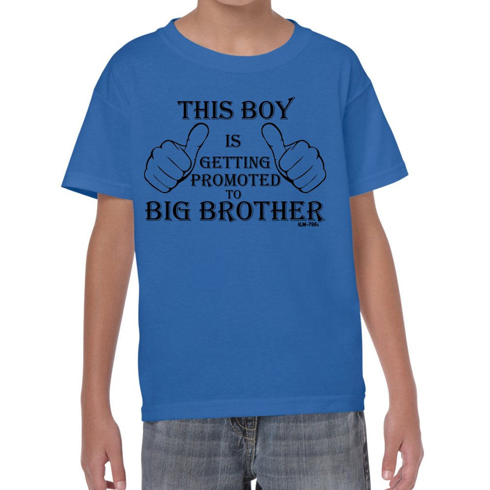 282649986 Promoted to Big Brother tshirt-Boys-Kids Funny Sayings Slogans tshirts:  Amazon.ca: Clothing & Accessories