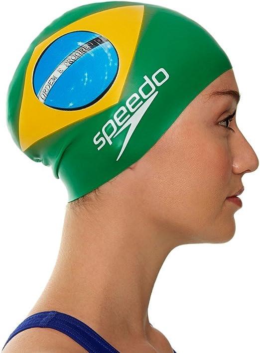 Speedo – Gorro de natación de Silicona – Adulto – Unisex – Talla ...