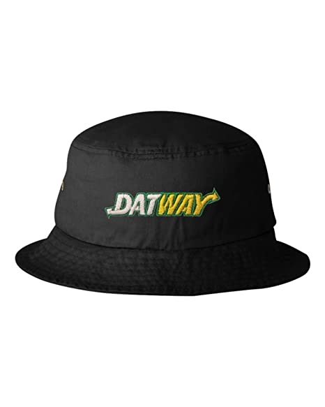 Go All Out One Size Black Adult Datway Embroidered Bucket Cap Dad Hat 575ef70c113