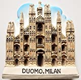 The duomo cathedral of Milan Resin 3D fridge Refrigerator Thai Magnet Hand Made Craft. by Thai MCnets