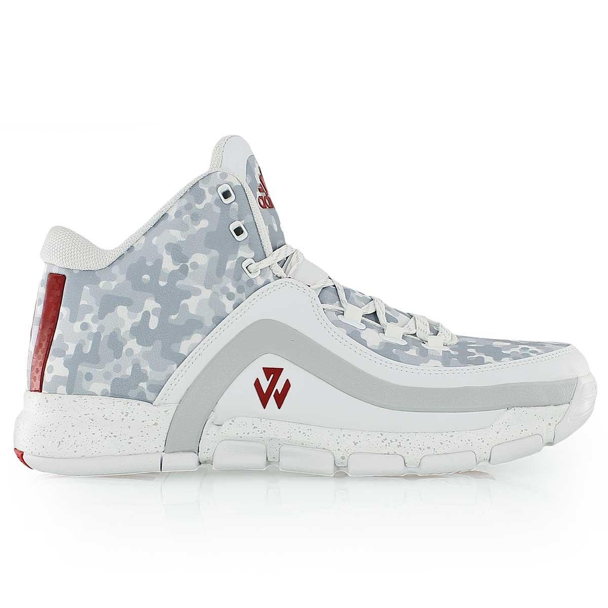 brand new b12a7 42172 adidas J Wall 2, FTWR White Scarlet Clear Grey S12, Größe 48  Amazon.de   Schuhe   Handtaschen