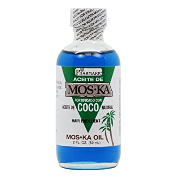 Amazon.com : Aceite De Moska Fortificado Con Aceite De Coco 2 Oz. : Hair Care Products : Beauty