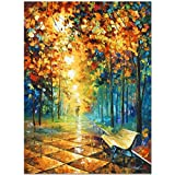 """Misty Park"" by Afremov, a Limited Edition Canvas with COA offers"