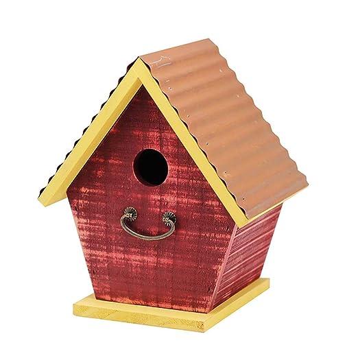 Birdhouses GONAJardín a Prueba de Viento y Impermeable Bosque de ...