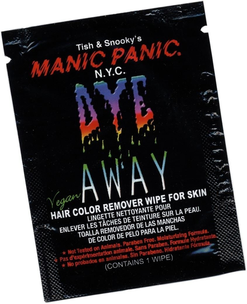 Amazon.com: Manic Panic Blue Steel Hair Dye | Pastel Blue | NEW COLOUR! + FREE Dye Away Wipe by Manic Panic: Health & Personal Care
