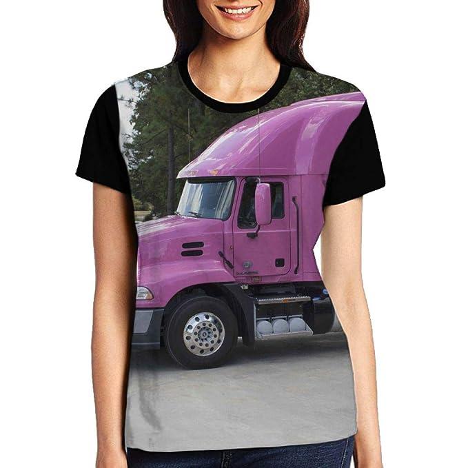 659f2d45ef1b5 UUDNSA Camouflage Big Truck Kids Women s Short Sleeve T-Shirt at ...