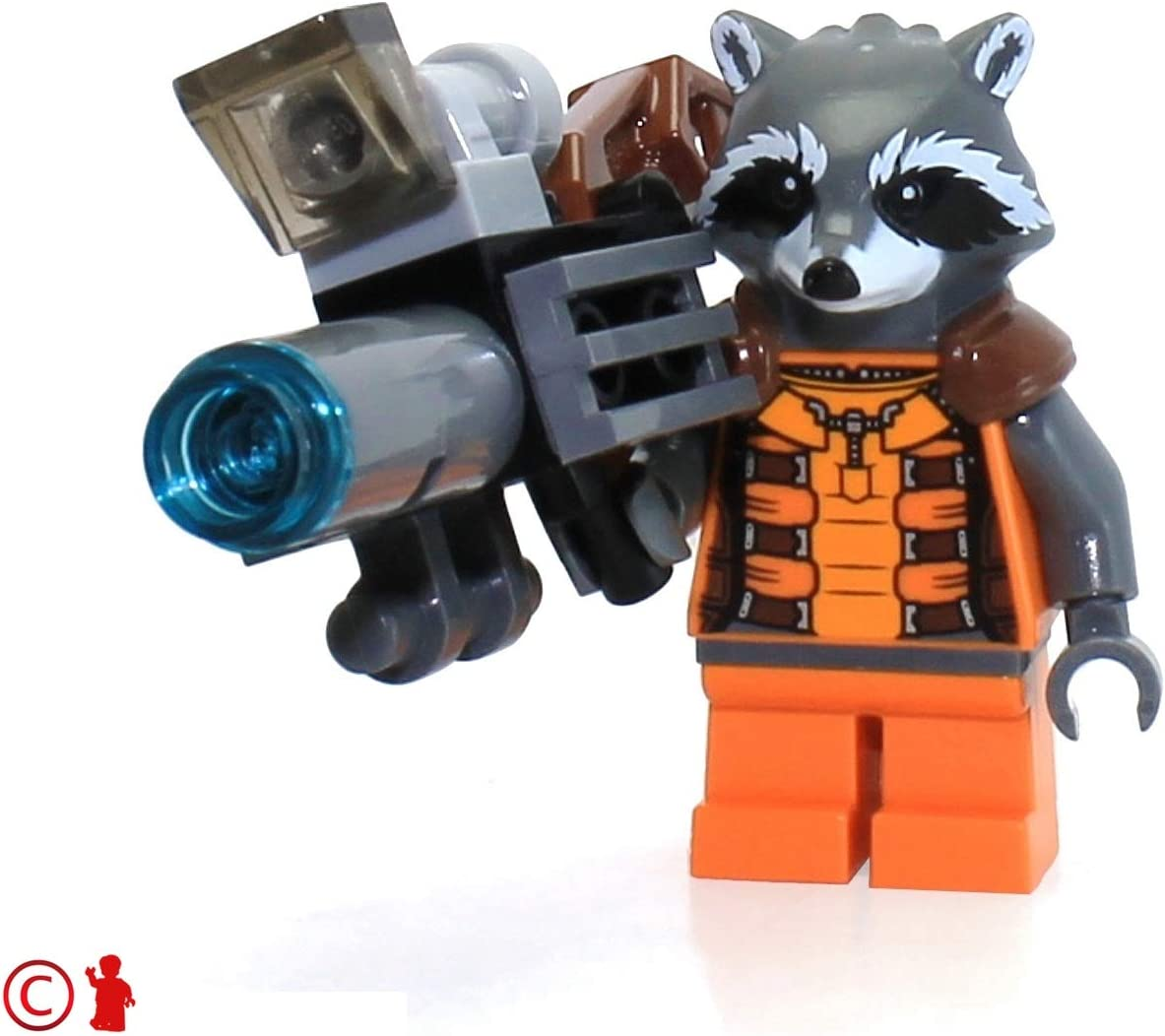 LEGO Super Heroes Guardians of the Galaxy Minifigure - Rocket Raccoon (76020)